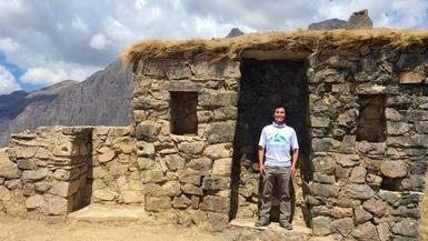 Tour Guide Spotlight: Introducing Claudio César Andía Paz
