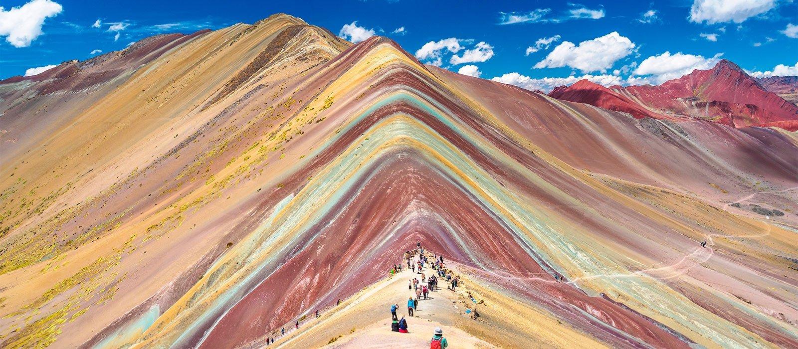Ausangate, Rainbow Mountain to Machu Picchu