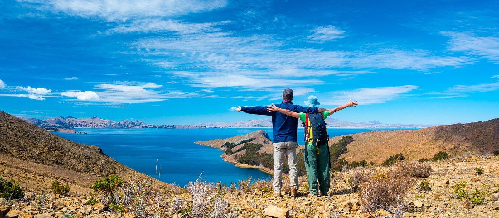 Catamaran Cruiser (Sun Island, Inti Wata, Titicaca Lake) to La Paz