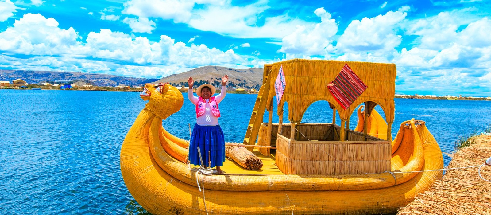 Floating Island of the Uros