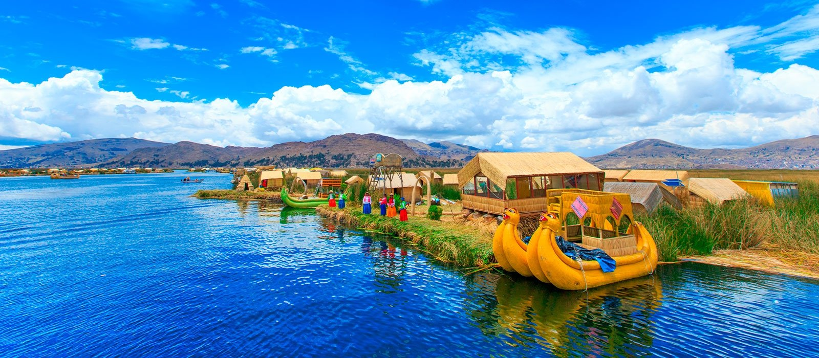 Floating Islands of the Uros and Taquile
