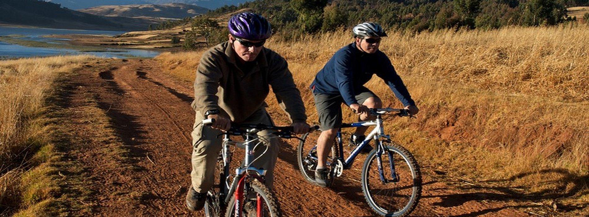 Maras and Moray Tour, bike