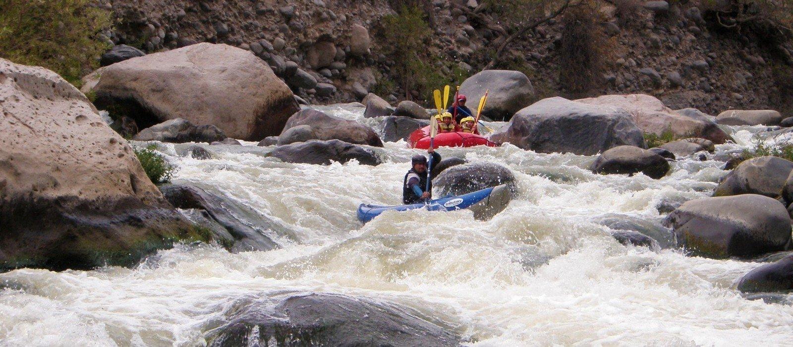 Rafting Chili River