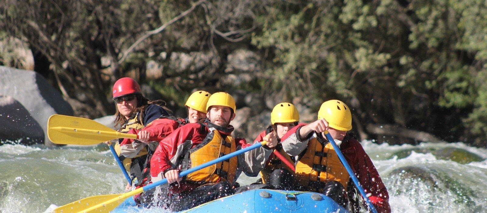 River Rafting and Ziplining at Chuquicahuana