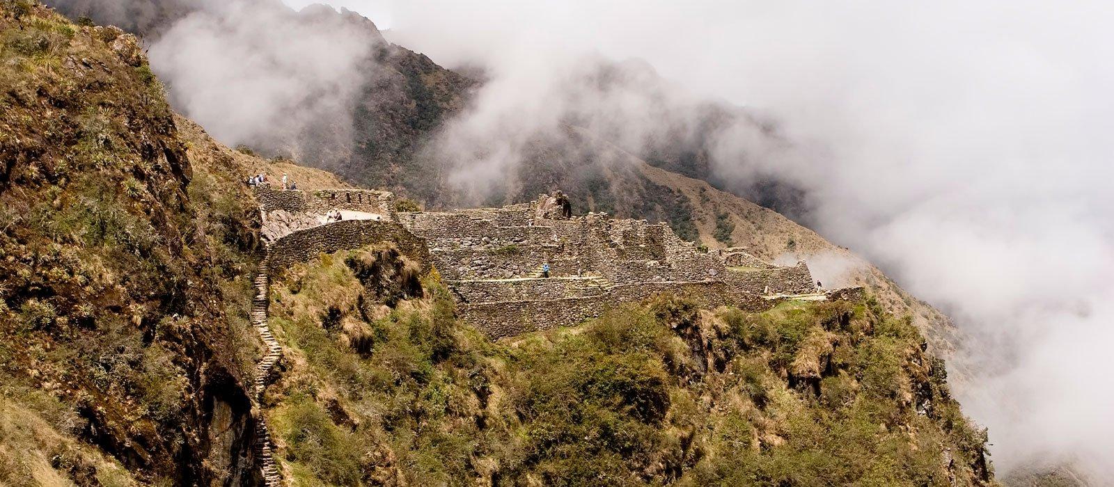 Trek along the Inca Trail & Machu Picchu